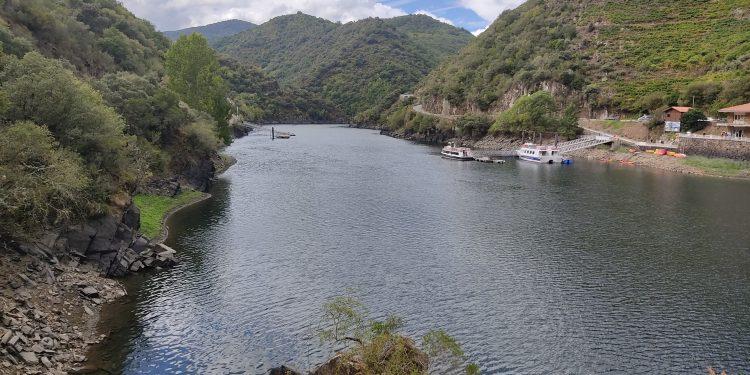 Imagen de archivo de un embarcadero en la Ribeira Sacra   DIPUTACIÓN DE LUGO