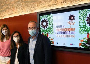 El alcalde, Xosé Sánchez Bugallo, presenta la feria | CONCELLO DE SANTIAGO