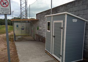 El Concello de Oroso acomete mejoras en instalaciones deportivas | CONCELLO DE OROSO