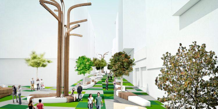Proyecto para la peatonalización de la calle Alcalde Marchesi | CONCELLO DA CORUÑA