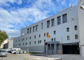 Imagen de archivo de la Comisaría de Policía de Lonzas, en A Coruña